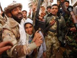 Войска Каддафи отступили к Триполи