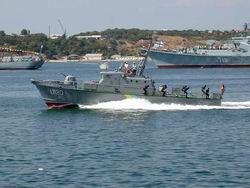 В порт Севастополя зашёл грузинский военный корабль