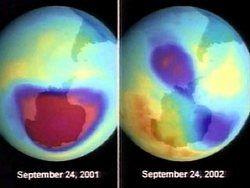 Озоновая дыра из Арктики добралась до Москвы