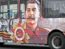 Портретам Сталина отказали в праве разъезжать по Москве