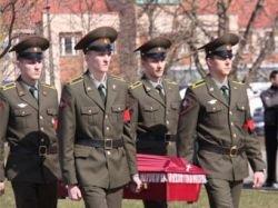 Эстония передала России останки советского солдата