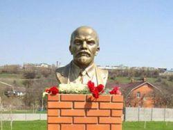 В украинском селе восстановили памятник Ленину
