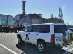 На годовщину Чернобыля в Киев приехал генсек ООН