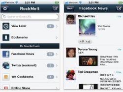 Социальный  браузер RockMelt вышел на iPhone