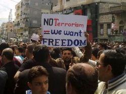 В столкновениях с полицией погибли 68 сирийцев