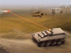 Ржавеет наш лазерный танк