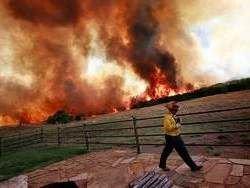 В Техасе горит свыше полумиллиона гектаров леса