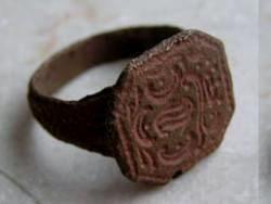 Кольцо Евы найдено в угольной шахте