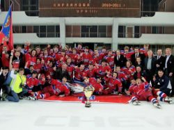 Красноармейцы стали обладателями Кубка Харламова