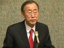 Генсек ООН потребовал прекратить кровопролитие в Сирии