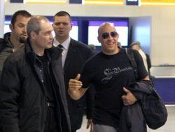 Вин Дизель прилетел в Москву