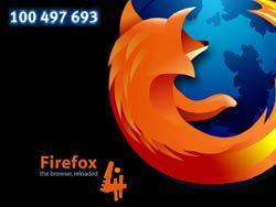 Firefox 4 побил планку в 100 миллионов загрузок