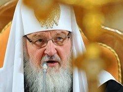 Патриарх осудил телевидение за смех в Страстную неделю