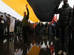 Антимусульманский митинг в Москве, сотни недовольных