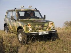 В Бразилии будут собирать Lada 4х4 Нива