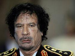 Резиденция Каддафи повреждена в результате бомбардировки