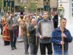 Христиане празднуют Светлую пасхальную неделю