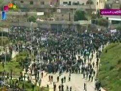 В сирийский город Дараа ввведены спецподразделения и бронетехника