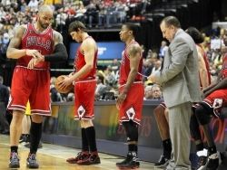 Chicago bulls ожидаемо проиграли