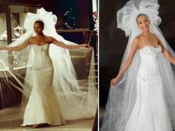 Дизайнер Рени Штраус создал свадебное платье за $12млн