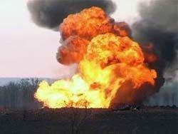 На территории военной части в Удмуртии рвутся боеприпасы