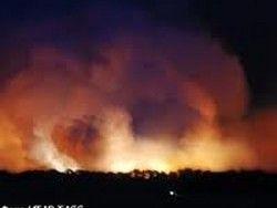 Артиллерийский арсенал горит в Удмуртии