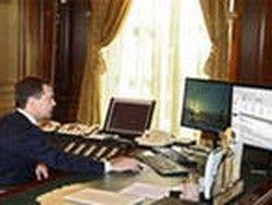 Медведев: интернет - не место для дискуссий