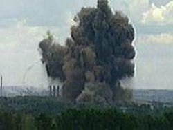 В Туркменистане на военном складе произошел взрыв