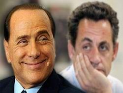 """Берлускони """"сдал"""" Саркози"""
