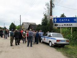 Эхо Сагры: милиция внимательно следит за ситуацией
