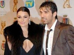 Чешская модель Алена Середова вышла замуж за Буффона