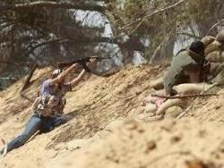 Виртуальное наступление на Триполи ливийских мятежников