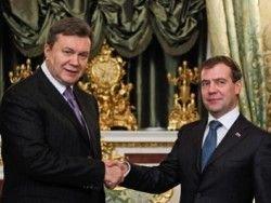 Дмитрий Медведев поздравил Виктора Януковича с днем рождения