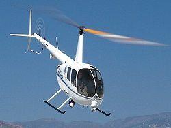 В Енисей упал частный двухместный вертолет