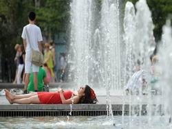 В восточной Европе установилась небывалая жара