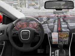 Автомобиль сможет видеть в 3D режиме