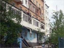 В Якутске из-за проседания грунта обрушился дом