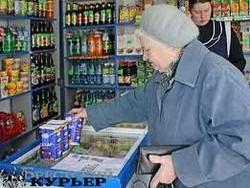 Россияне массово скупают товары в магазинах Гомеля