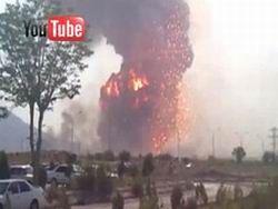 Туркмения признала взрыв на складе боеприпасов