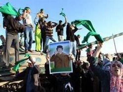 Каддафи предлагает народу начать переговоры с повстанцами