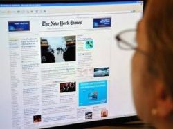 На сайт The New York Times подписались 224 тысячи читателей