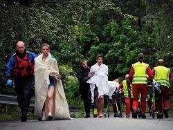 Выжившие в бойне на Утейе: террористов было двое