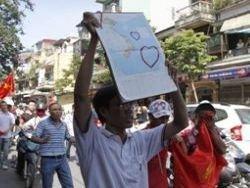 В Ханое прошла очередная антикитайская демонстрация