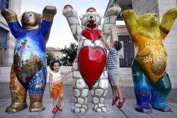 В Иерусалиме состоялась всемирная выставка медведей (фото)