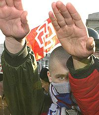За год в России число преступлений на национальной почве возросло в два раза