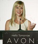 Посланница компании Avon