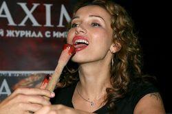 Анфиса Чехова приготовила свой фирменный эротический коктейль (фото)