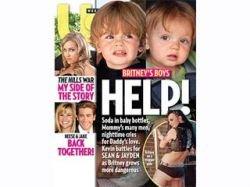 Дети Бритни Спирс просят о помощи с обложки американского журнала