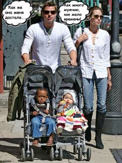 Джоли - Питт: на грани развода
