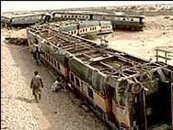 Около 100 человек погибли в железнодорожной катастрофе в Конго